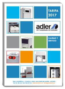 Nueva tarifa 2017 de Adler2012