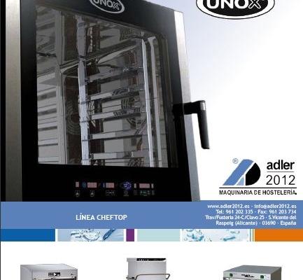 Nuevo Catálogo Marzo – Tarifa Especial UNOX